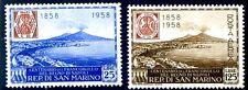 SAN MARINO 1958 - FRANCOBOLLI DI NAPOLI  SERIE  NUOVA  **