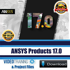 ANSYS Products 17.0 Video Training Tutorials Course Working Files DOWNLOAD