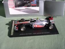MCLAREN-MERCEDES MP4-26 #4 JENSON BUTTON 1ER GP JAPON FORMULE I 2011 SPARK 1/43