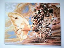 Painting with  Amber Stones.Hand Made Pictures Genuine Baltic Amber