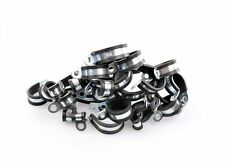 25 Clips of 20mm | Rubber W4 Stainless Steel - Clutch Hose Clamp Pipe Lined P