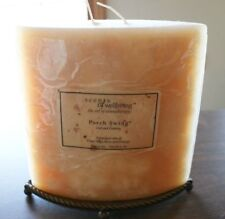 Fitz and Floyd Aromathery Candle W /Metal base Scents of well being Porch Swing