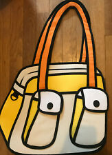 Jump From Paper Bonjour Bag Yellow Padded 2D Bag never used
