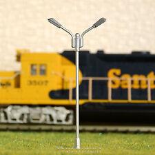 10 x OO / HO scale Model Railroad train Lamp posts Led street light Lamps YD75D