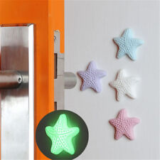 3pcs/lot Silicone Door Knob Crash Pad Wall Self Adhesive Luminous Guard Stopper