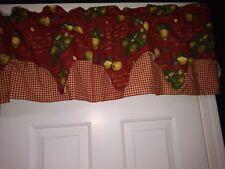 Waverly Home Classics Citrus Grove Crimson Valance 54x14 NEW....NOW ON SALE