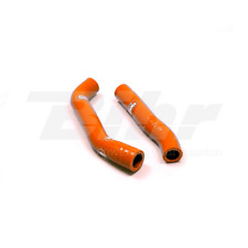 SAMCO SET MANCHON TUYAUX RADIATEUR ORANGE KTM FREERIDE 350 2013-2018