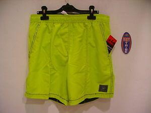 Speedo Boardshort Shorts Sea Costume Chk Trim Leis 809264A088 Green L