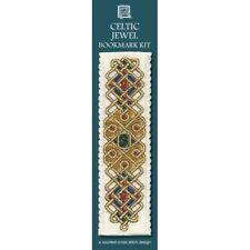 Celtic Jewel Bookmark Counted Cross Stitch Kit Textile Heritage