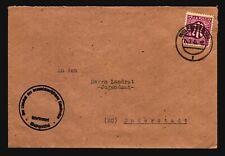 Germany 1945 M Post Cover / Wolfenbuttel - Z16584