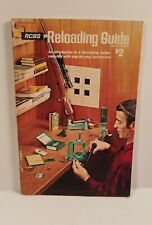 Vintage 1976 Fourth Edition RCBS Reloading  Guide  • 64 pages •Good Condition •