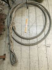 Industrial Solid Pulley Metal Wire Cable 6.7M Long 3.5cm Home Wall Shed Decor