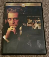"""""""The Godfather, Part Iii"""".Widescreen, Al Pacino & Andy Garcia, Pre Owned Dvd"""