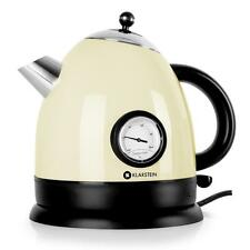 2200 W STAINLESS STEEL CORDLESS KITCHEN TEA KETTLE 1.5 L THERMOMETER  *FREEP&P *