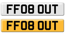 FF08 OUT - Private Personalised Number Plate Registration