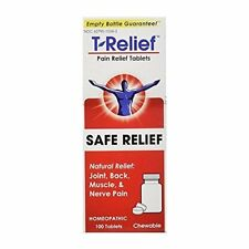 T-Relief Pain Relief Safe Relief Tablets 100 ea