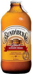 Bundaberg Diet Ginger Beer (12 x 0,375 Liter Flaschen)