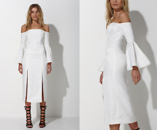 MOSSMAN -  SPOT THE DIFFERENCE DRESS - sz 6 WHITE SOLD OUT In Store Now BNWT