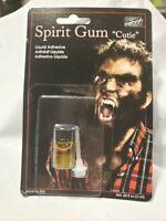 Mehron Adhesive Spirit Gum Liquid  Mustaches Wigs Toupees Facial Hair Free Ship