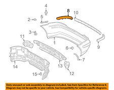 Mercedes MERCEDES-BENZ OEM SLK230-Bumper Trim-Molding Trim Right 17088506211685