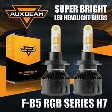 AUXBEAM H7 2 in 1 LED Headlight Kit Hi/Lo DRL Driving RGB Bluetooth APP Control
