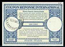 ITALY 120 lire 1965 -- International Reply Coupon IRC