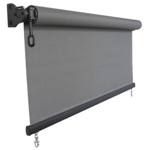 Made To Size Heavy Duty Outdoor Roller Blind 3.5m - 4m Width