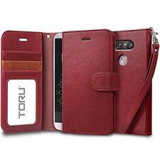Luxury LG G5 Case Prestigious Series Leather Flip Cover & 🇯🇵 Screen Protector
