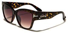 Women's Tortoise Oversized Cat Eye Sunglasses Pin Up Rockabilly Psychobilly