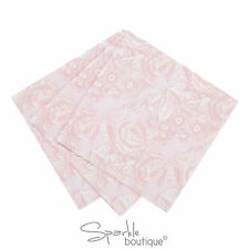 PINK ROSE/FLORAL VINTAGE STYLE PAPER NAPKINS -Afternoon Tea Party- RANGE IN SHOP