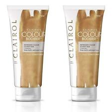 2 x Clairol 2-in-1 Colour Booster & Daily Hair Conditioner Enhancer - Caramel