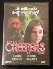 CREEPERS PHENOMENA DVD Jennifer Connelly Horror Dario Argento New OOP Grail Rare