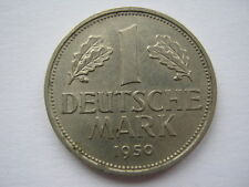 Germany 1950-D 1 Mark EF