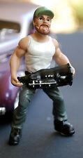 23999 American Diorama musclemen OFFICINA MECCANICO Trucker Troy, 1:24