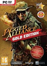 Computer pc dvd gioco Jagged Alliance Gold con BACK in Action & CROSSFIRE NUOVO