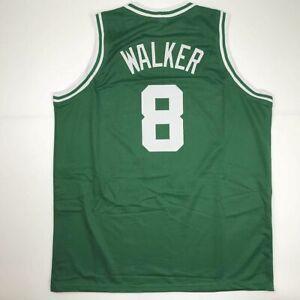 New KEMBA WALKER Boston Green Custom Stitched Basketball Jersey Size Men's XL