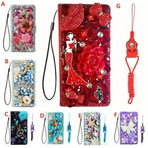 for Galaxy A10 A20 A30 A10E A20E A51 A71 A41 A11 Bling Wallet Leather Phone Case