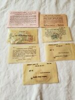 Lot Of Vintage Worldwide Stamps From Garcelon Stamp Company, 1950s, 1945, 1934