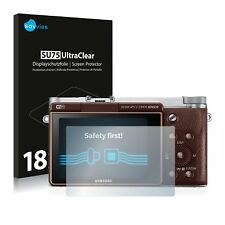 18x Savvies Screen Protector for Samsung NX3000 Ultra Clear