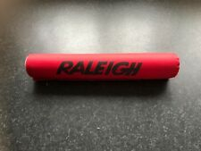 ORIGINAL1980,S RALEIGH BURNER MK2 FRAME PAD RED WITH BLACK DECALS OLD BMX