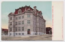 Post Office and Customs House Victoria, BC 539 Unused Postcard Canada