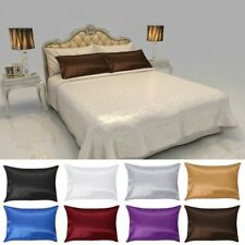 1/2 Pcs Pure Mulberry Soie PillowCase Couverture Femme au foyer Reine Standard