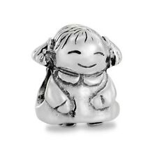 Authentic Pandora Charm Sterling Silver 790375 Girl Charm