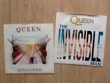 "2 QUEEN 7""s . INNUENDO & THE INVISIBLE MAN"