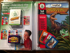 LeapFrog LeapPad Educational Book:Leap & the Lost Dinosaur w/Interactive Cards