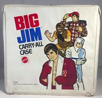 Vintage 1973 Mattel Big Jim Carry All Case