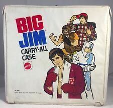 Vintage 1973 Mattel Big Jim Carry All Case