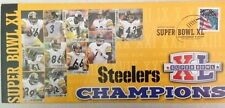 Pittsburgh Steelers Photofile Super Bowl XL 40 Officially Licensed Envelope 2006