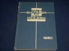 1930 THE YALE BANNER & POT POURRI ANNUAL YALE UNIVERSITY YEARBOOK - YB 395