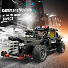 BB13007 462PCS DIY Command Vehicle 2.4G Building Block RC Car Kids Toys N7Z9